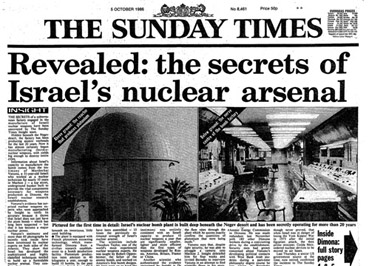 SundayTimes-IsraeliNuclearWeapons