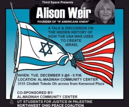 Alison Weir talk flyer