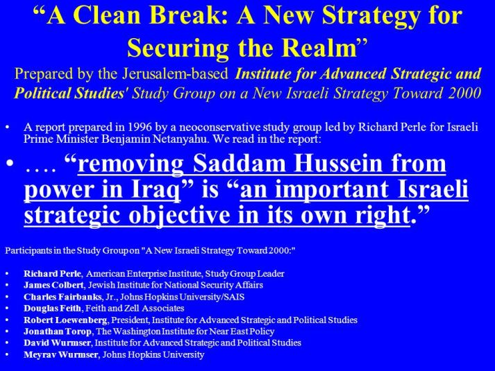 A+Clean+Break_+A+New+Strategy+for+Securing+the+Realm+Prepared+by+the+Jerusalem-based+Institute+for+Advanced+Strategic+and+Political+Studies+Study+Group+on+a+New+Israeli+Strategy+Toward+2