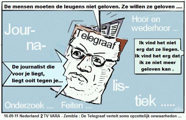 telegraaf18-9-11 spotprent.nl