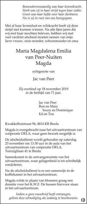 80421806 Magda van Peer